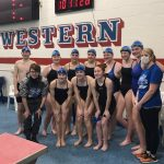 Lady Shiners Swimmers Finish 2nd in First ORVC Championship