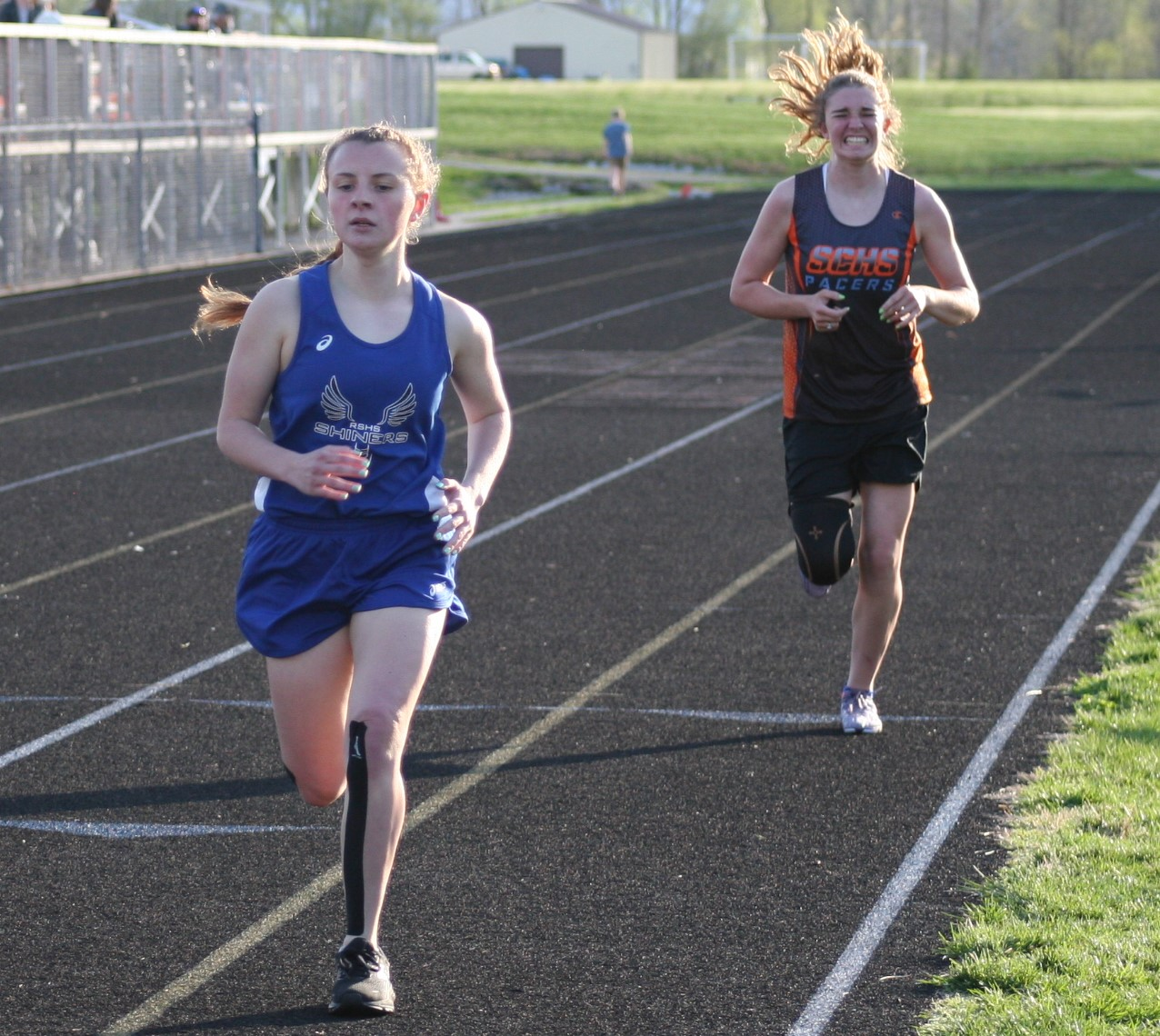 Shiners Track Competed at Lawrenceburg