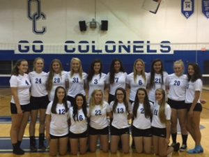 2015 OCHS Volleyball