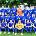 Oldham County High School Boys Varsity Soccer beat Scott County High School 7-0