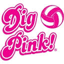OCHS Volleyball Dig Pink Night!