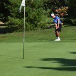 Oldham County High School Boys Varsity Golf beat South Oldham High School 154-163
