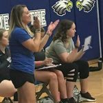 Oldham County volleyball team dedicating season to coach fighting rare disorder-WLKY