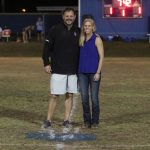 Huecker Honored as Lady Colonels.