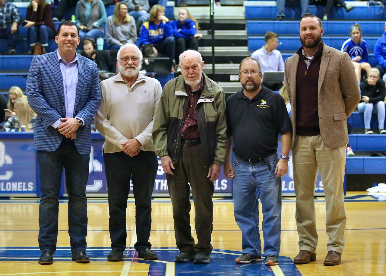 2019 Hall of Fame inductees Recognized at District Game