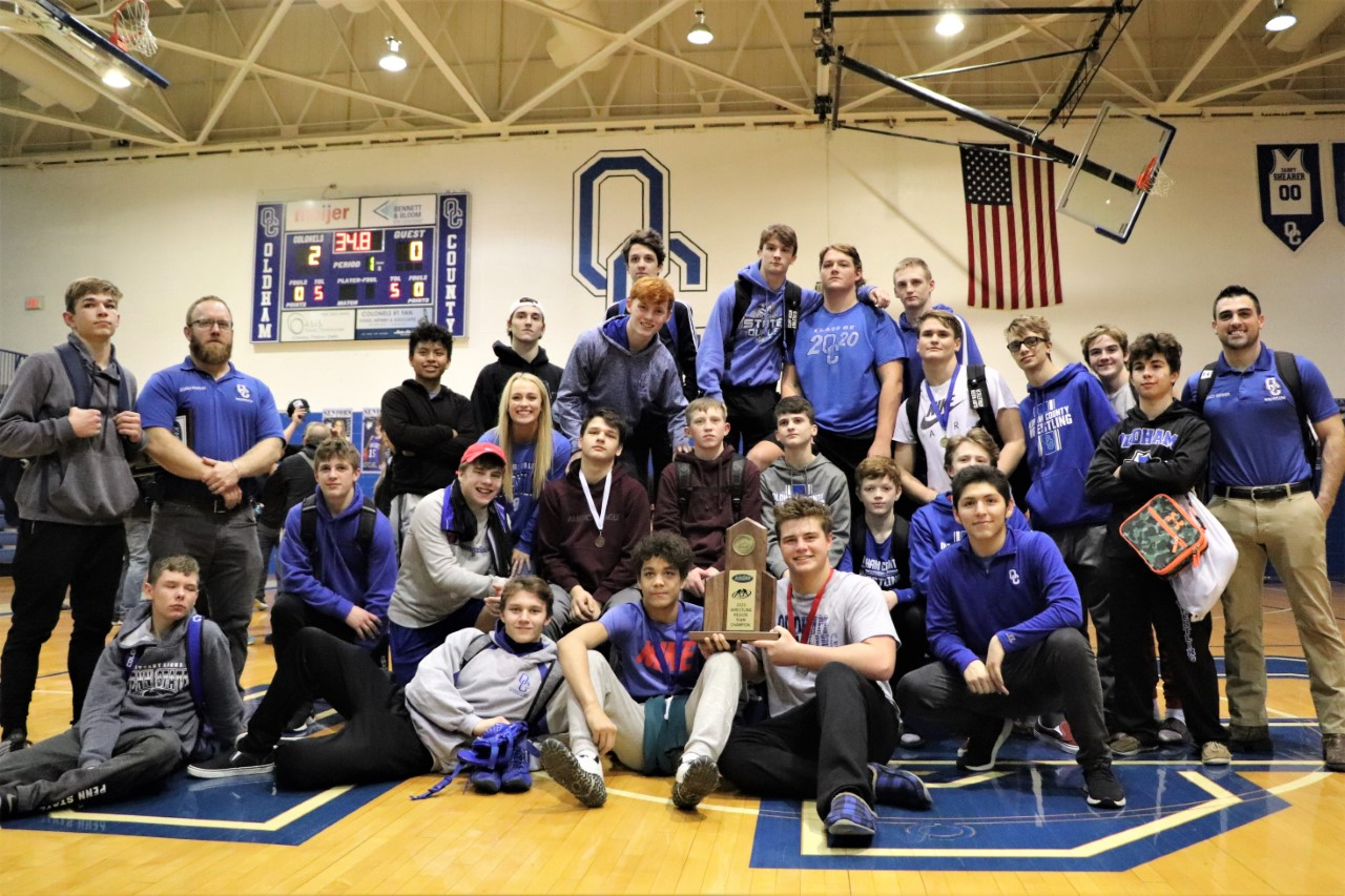 Colonel Wrestlers Repeat as 5th Region Champs