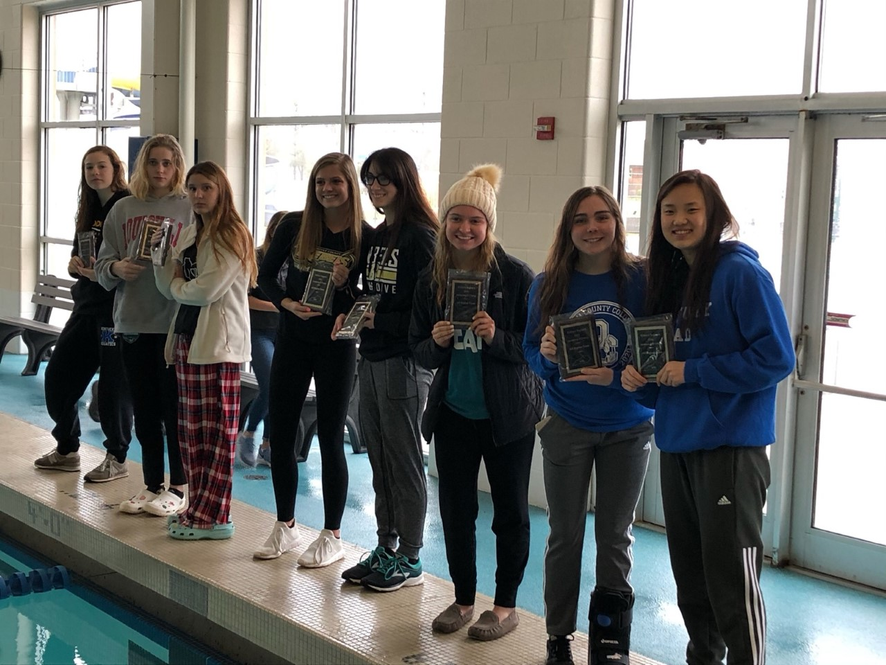 Bailey leads Colonel Swim teams at Regional 6 Championship