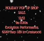OCAB Holiday Pop-up Store this Saturday