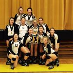 Lady Hornets Volleyball – Cowan Tournament Champs