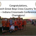 Boys Cross Country Conference Champs!