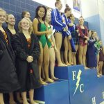 Beech Grove High School Girls Varsity Swimming finishes 5th place