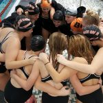 Beech Grove High School Girls Varsity Swimming beat Speedway High School 91-57