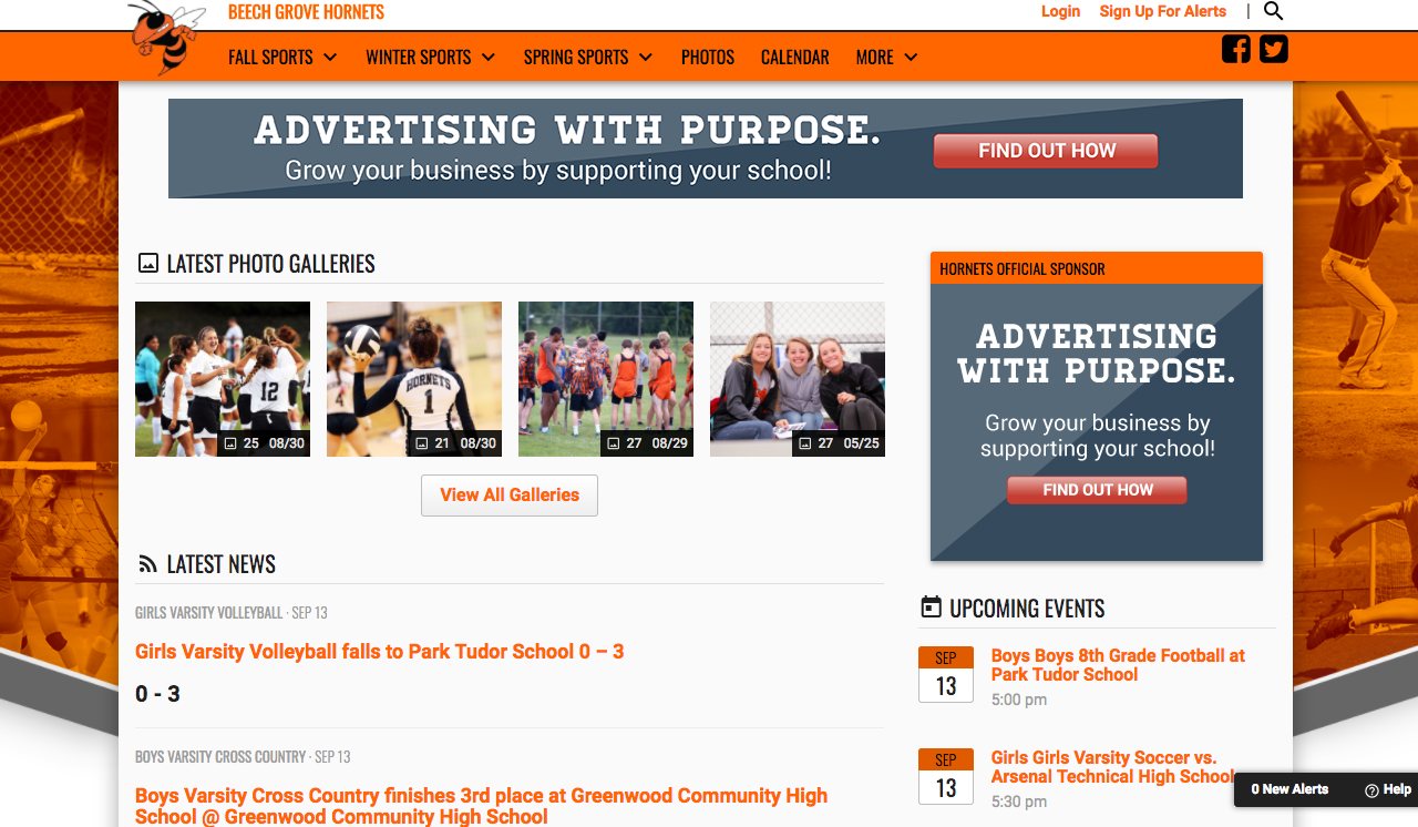 Check Out the Updated Athletics Website!
