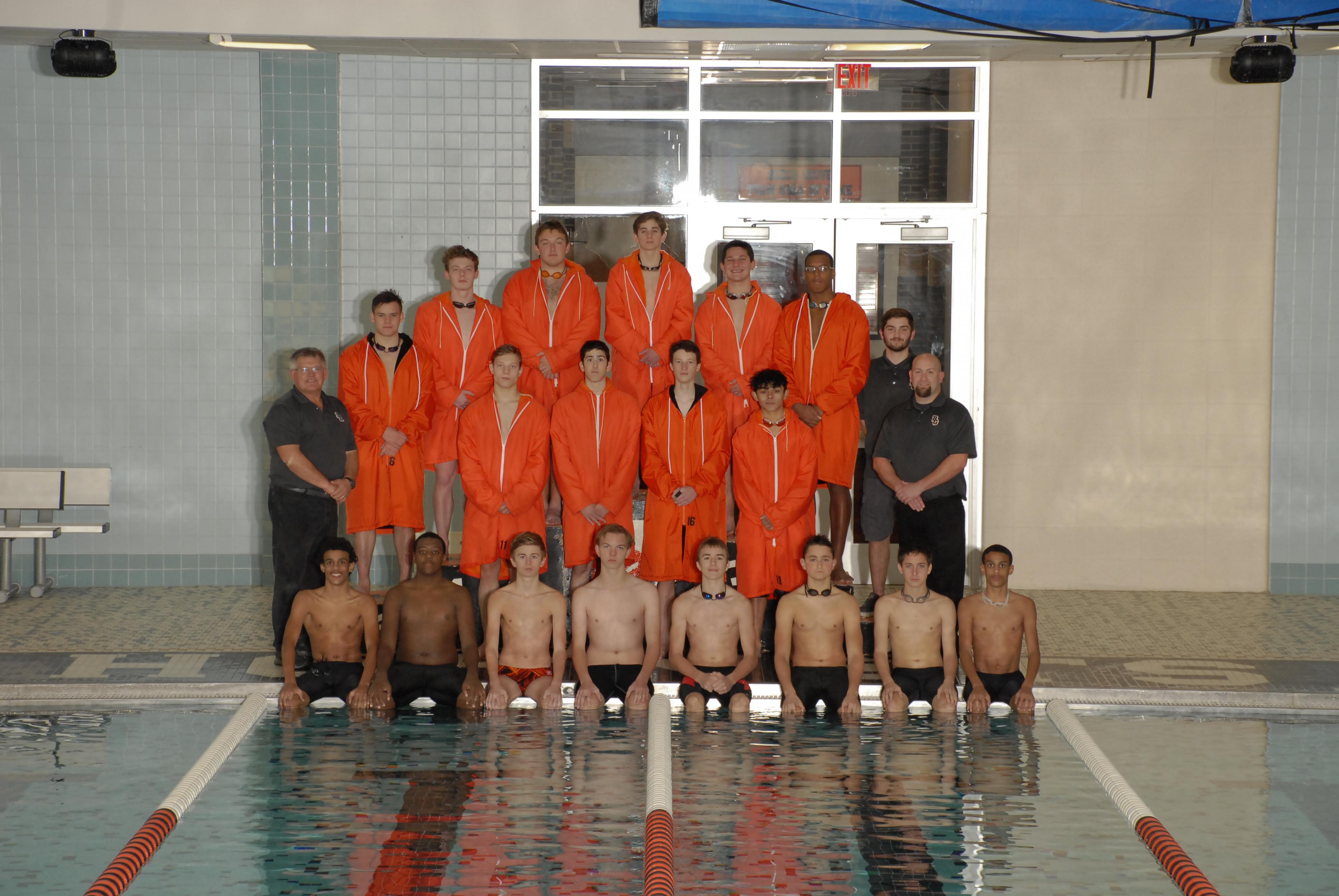 Boys Swim Builds on Successful Season