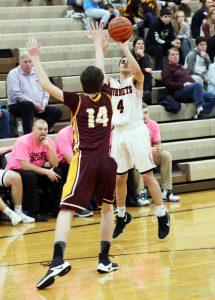 Vasity Boys Basketball vs. Lutheran