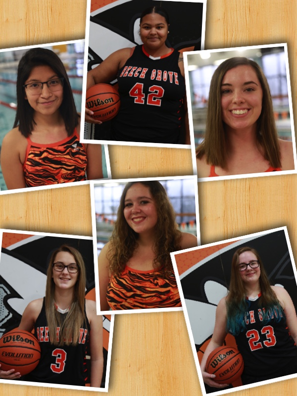 Senior Night – Lady Hornets Swimming and Basketball