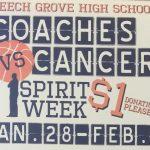 Coaches v. Cancer Spirit Week