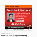 Athletics Sponsor Recognition of the Month – David Johnson of State Farm Insurance