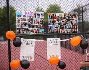 Girls Tennis Senior Night 2019