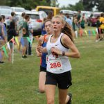 Sophia Simon runs to Semi-State Cross-Country