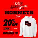 Get your BG Gear for Christmas! 20% off sale!