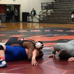 BGMS Wrestling defeated Brown County 58-42