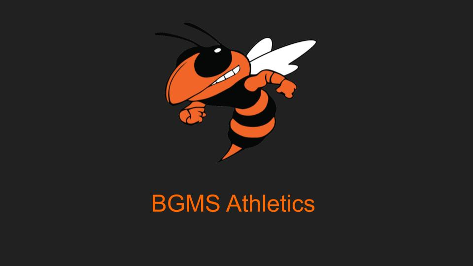 BGMS Fall Sports' Practices Start Soon