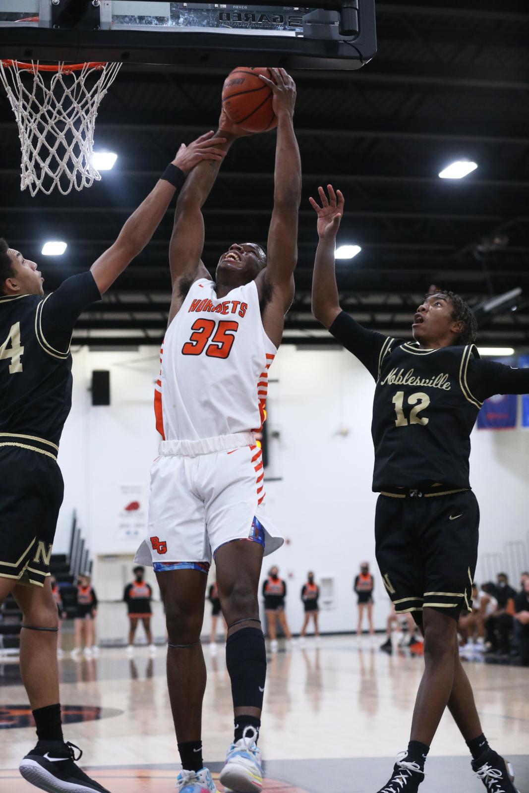 Boys Basketball (Var. & Fresh.) v. Noblesville