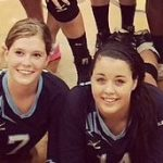 Altman and Elms make the North-South All Star Volleyball team