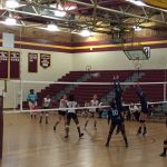 Aynor High School Girls Varsity Volleyball beat Marion High School 3-1