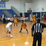 Aynor High School Boys Varsity Basketball beat Lincoln High School 46-37