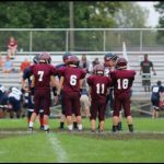 Jr. High Football Shuts Out Black River