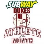 Subway Presents Athlete of the Month Award