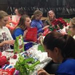 Girls Basketball X-mas Party