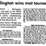 Today In Dukes History: Wrestler's Win Black River Invitational In 1990