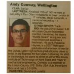 CT Player of the Week: Andy Conway
