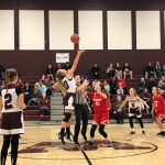 Lady Dukes Junior High Basketball Sweeps Firelands