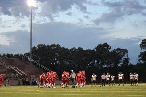 JV Football vs. Holton