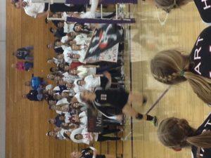 Pirate Posse @ Volleyball District Semi-Finals