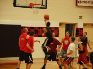 Alumni/Staff Basketball Game 2014