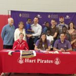 Aubrey Hertzler signs letter of intent to join Olivet Nazarene University