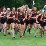 Girls Varsity Cross Country finishes 1st place at WMC Jamboree