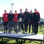 Boys Varsity Cross Country finishes 1st place at Allendale Falcon Invite