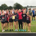 Girls Varsity and Jr. Varsity Cross Country finish 1st place at Allendale Invite