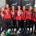 Hart Girls Varsity Cross Country finishes 1st place at Portage Invite, J.V. Girls 3rd place