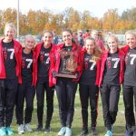 The Hart Girls Cross Country Team wins Regionals, headed back to the State Finals!!
