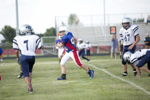 7th & 8th Football vs. Perry Meridian 8-15-2017