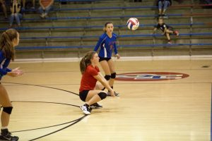 JV Volleyball vs. Southport 8-29-2017