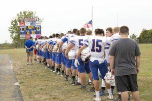 JV Football vs. Triton Central 9-11-2017
