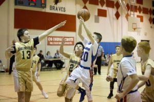 6th Grade Boys Basketball vs. Shelbyville 11-27-2017